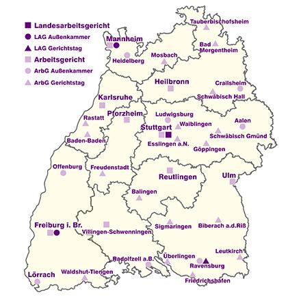 Pforzheim Karte.Arbeitsgericht Pf Startseite